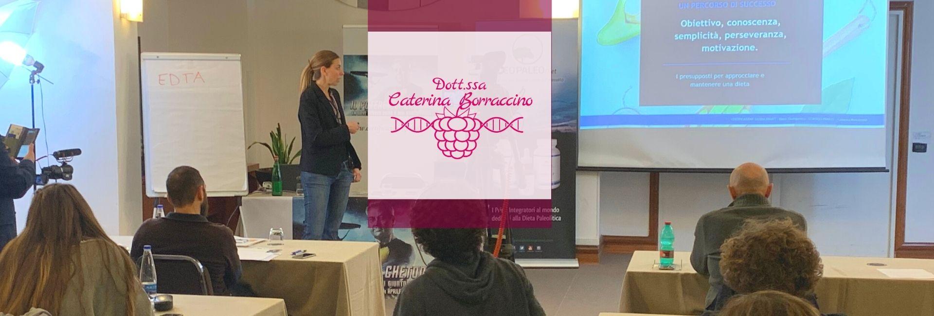 Dott.ssa Caterina Borraccino-paleo-chetogenica